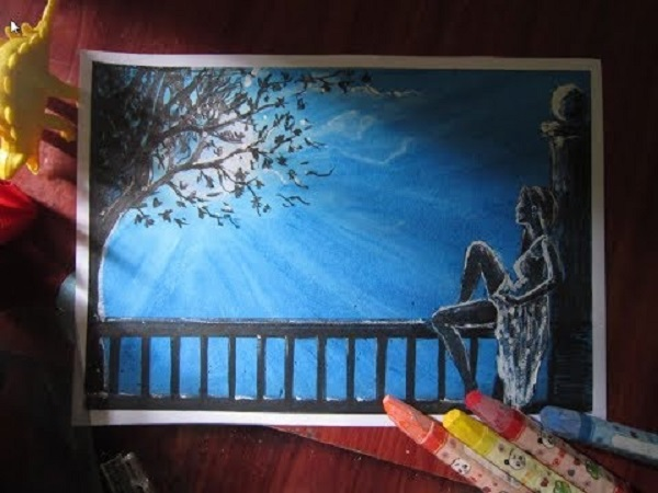 Mơ thấy mình vẽ tranh