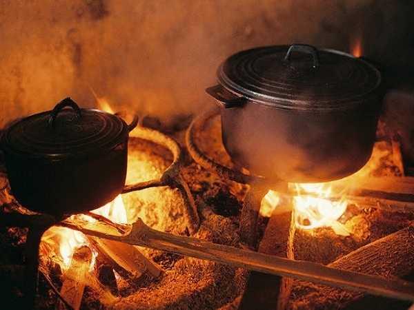 Điềm báo trong giấc mơ thấy bếp lửa
