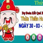 Dự đoán XSTTH ngày 30/3/2020 – Dự đoán xổ số Thừa Thiên Huế thứ 2
