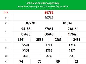 Chốt số dự đoán kết quả XSMB hôm nay ngày 21/3/2020