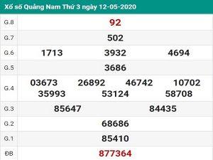 Dự đoán xổ số quảng nam ngày 19/05 tỷ lệ trúng cao