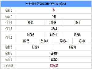 Dự đoán lô tô KQXSBD- xổ số bình dương thứ 6 ngày 12/06 hôm nay