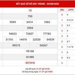 Dự đoán kết quả SX Sóc Trăng thứ 4 ngày 12-8-2020