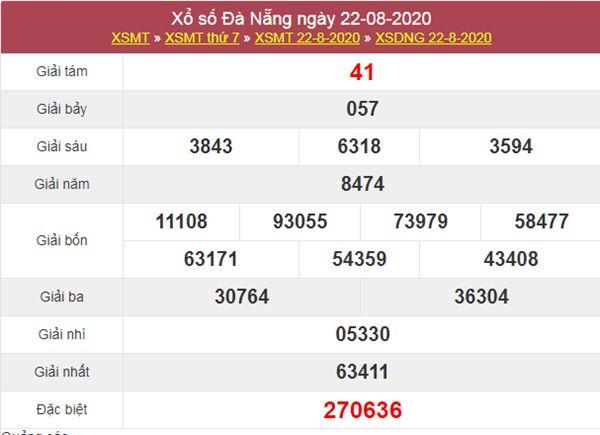 Dự đoán XSDNG 26/8/2020 chốt KQXS Đà Nẵng thứ 4