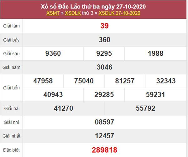 Dự đoán XSDLK 3/11/2020 thứ 3 hôm nay chính xác nhất