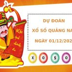 Dự đoán kết quả XS Quảng Nam Vip ngày 01/12/2020