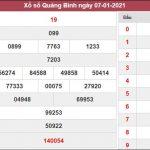 Dự đoán XSQB 14/1/2021 chốt số đề Quảng Bình chuẩn xác