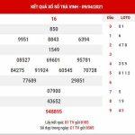 Dự đoán XSTV ngày 16/4/2021 đài Trà Vinh thứ 6 hôm nay chính xác nhất