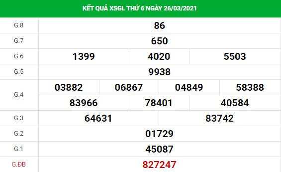 Dự đoán kết quả XS Gia Lai Vip ngày 02/04/2021