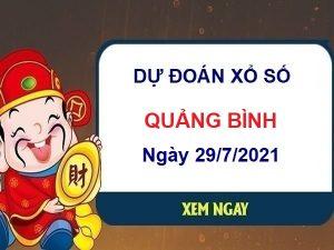 Dự đoán XSQB ngày 29/7/2021 chốt lô số đẹp đài Quảng Bình